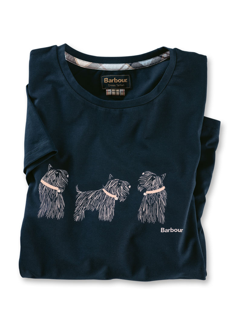 Barbour Shirt Scottish Terriers
