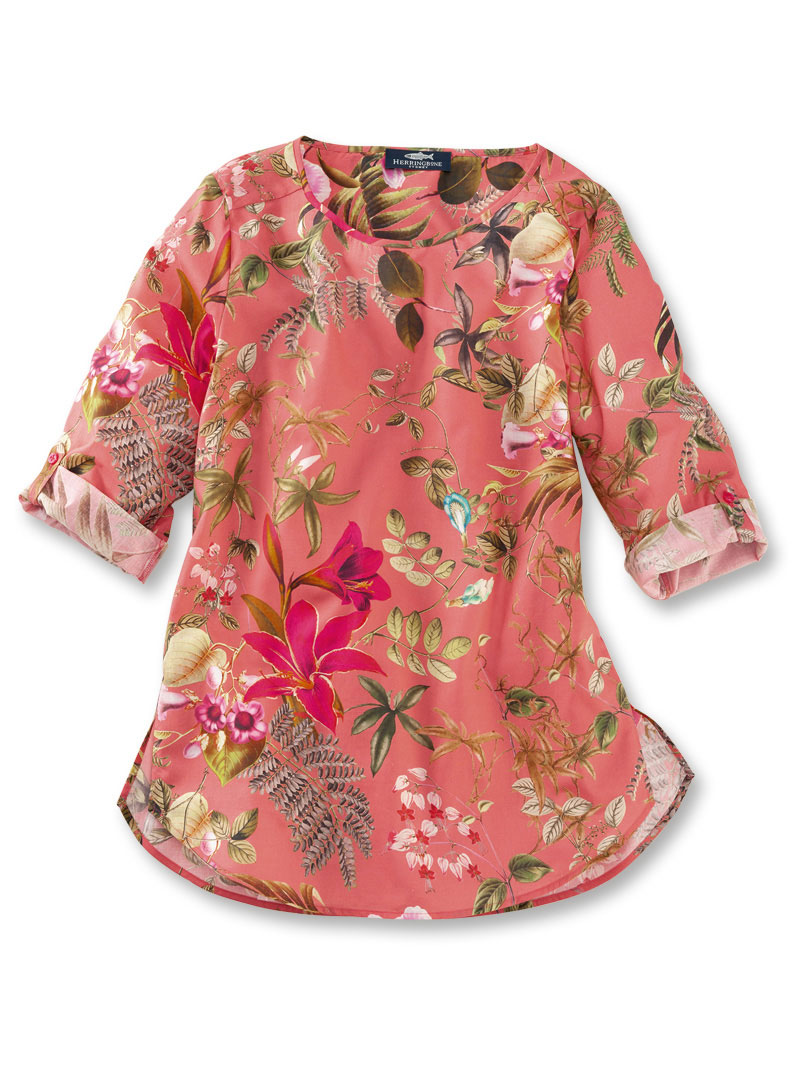 Shirt-Bluse in Flamingo