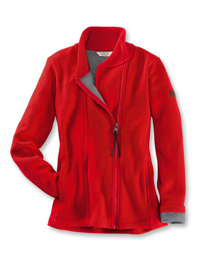 Fleecejacke von AIGLE in rot