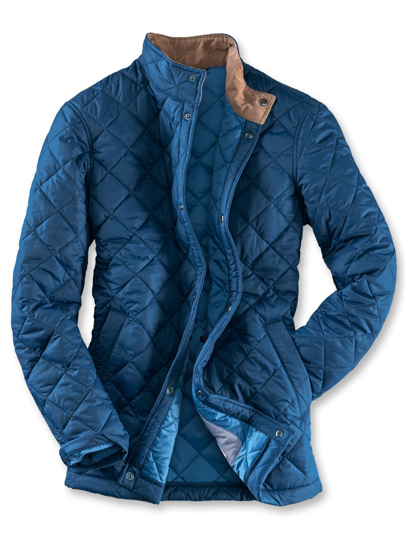 Barbour Steppjacke 'Elgon Jacket' in Navy Bild 2