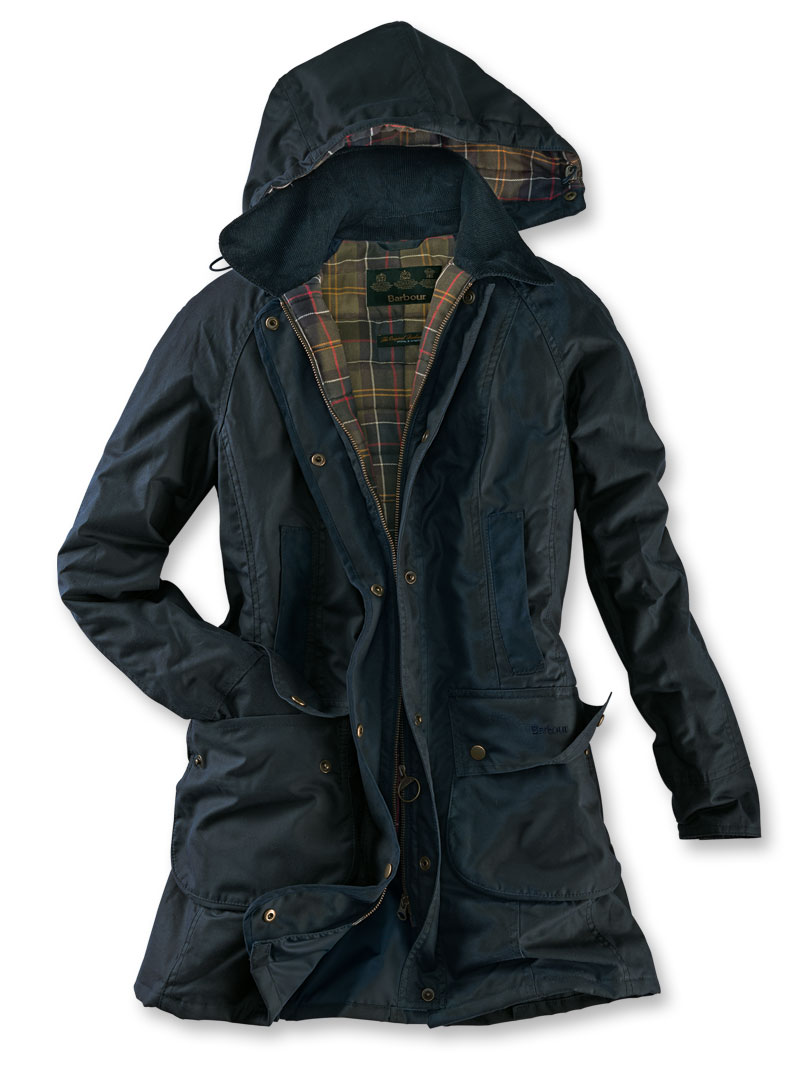 Barbour-Wachsparka 'Bower' in Navy