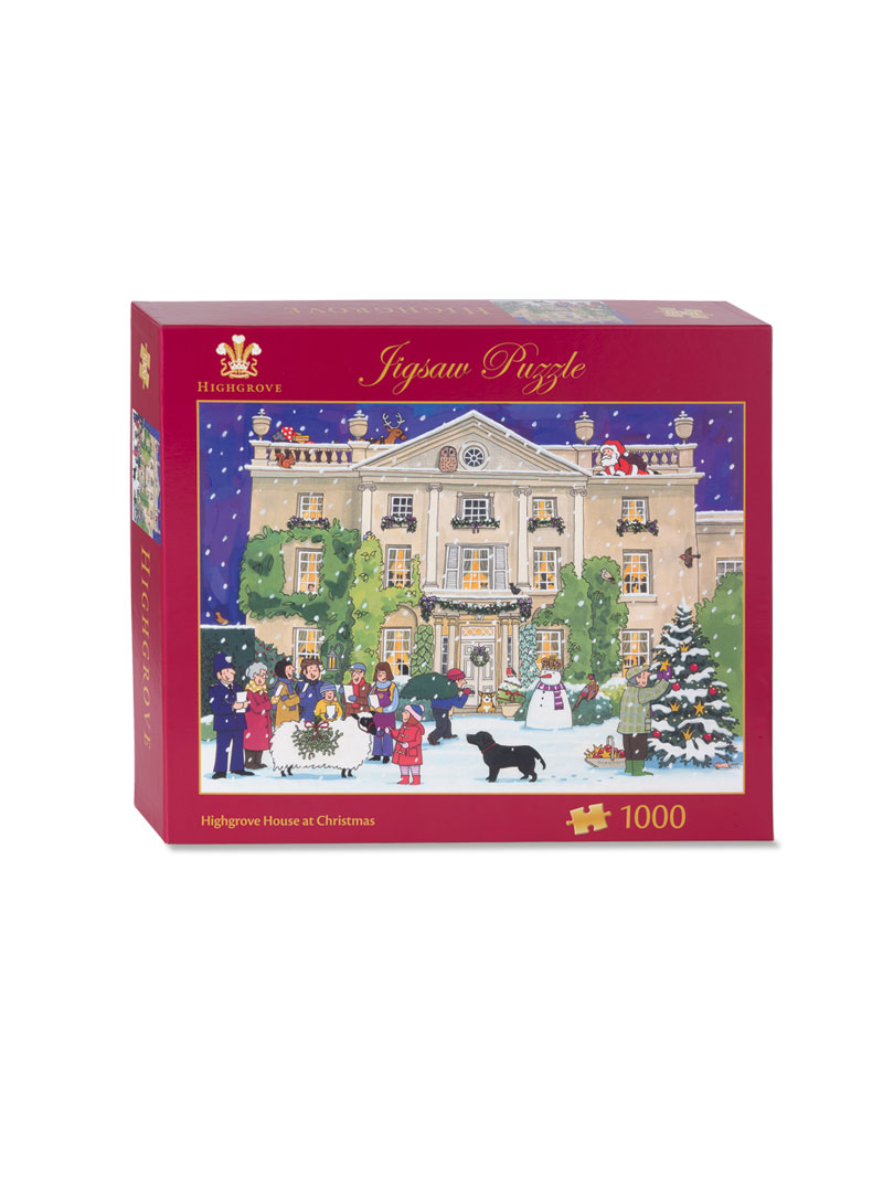 Puzzle 'Highgrove House at Christmas'