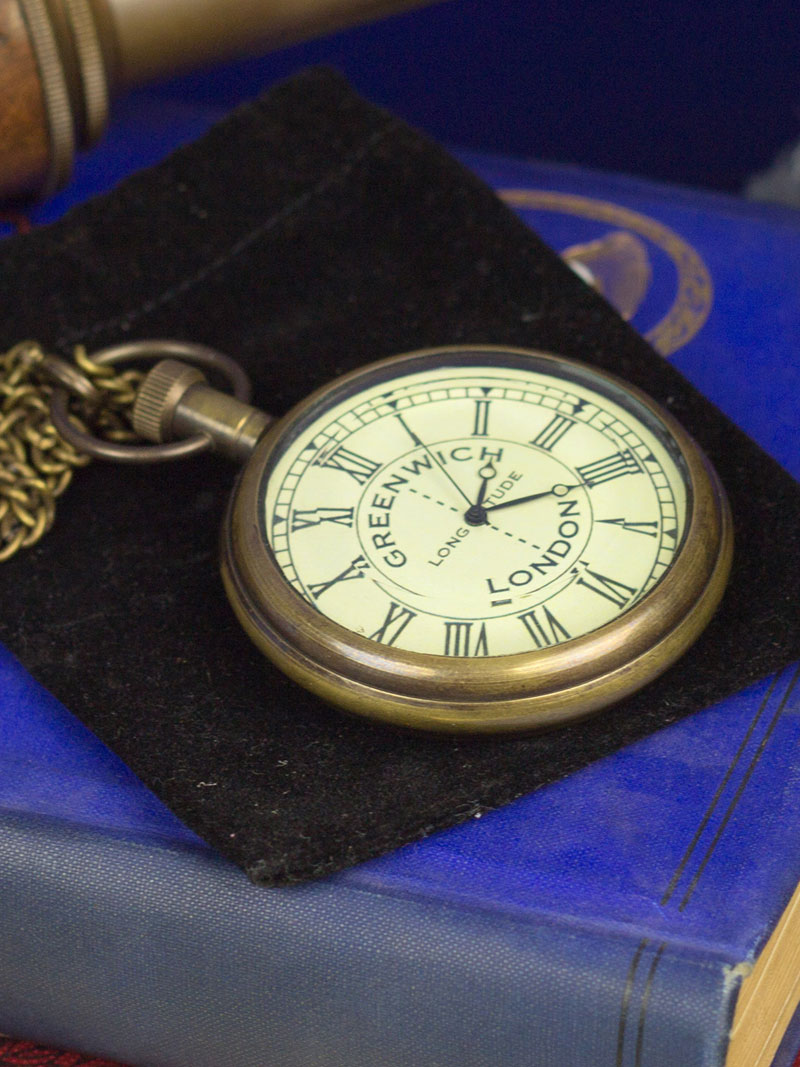 Taschenuhr 'Greenwich Meridian Pocket Watch' Bild 2