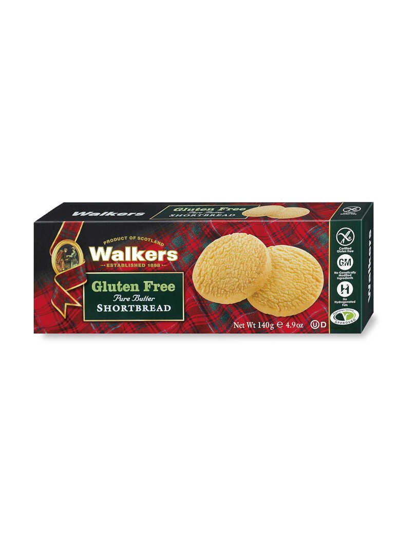 Pure Butter Shortbread Rounds Glutenfrei