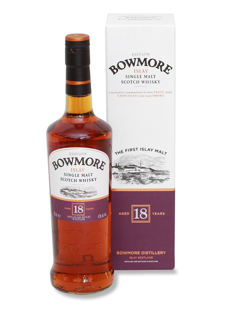Bowmore - 18 Jahre alter Islay Single Malt Whisky