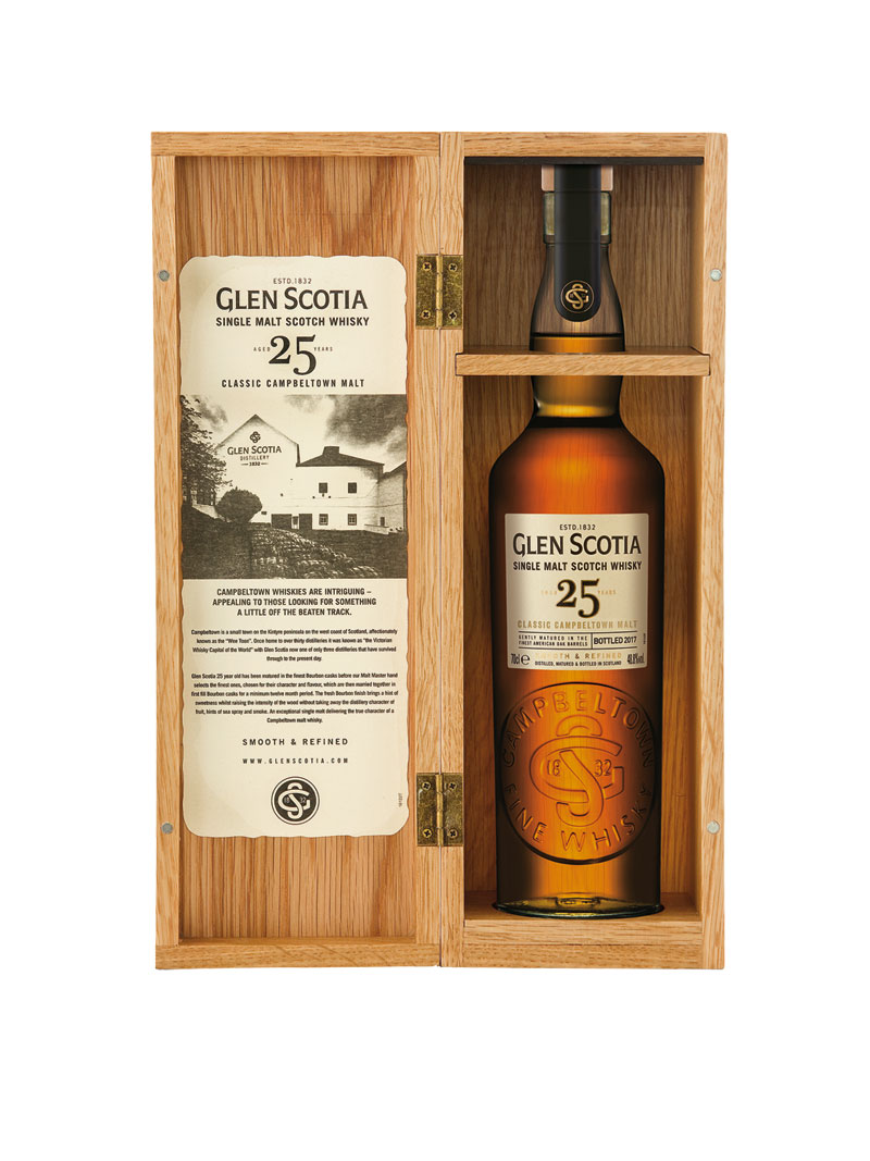 Single Malt Whisky Glen Scotia