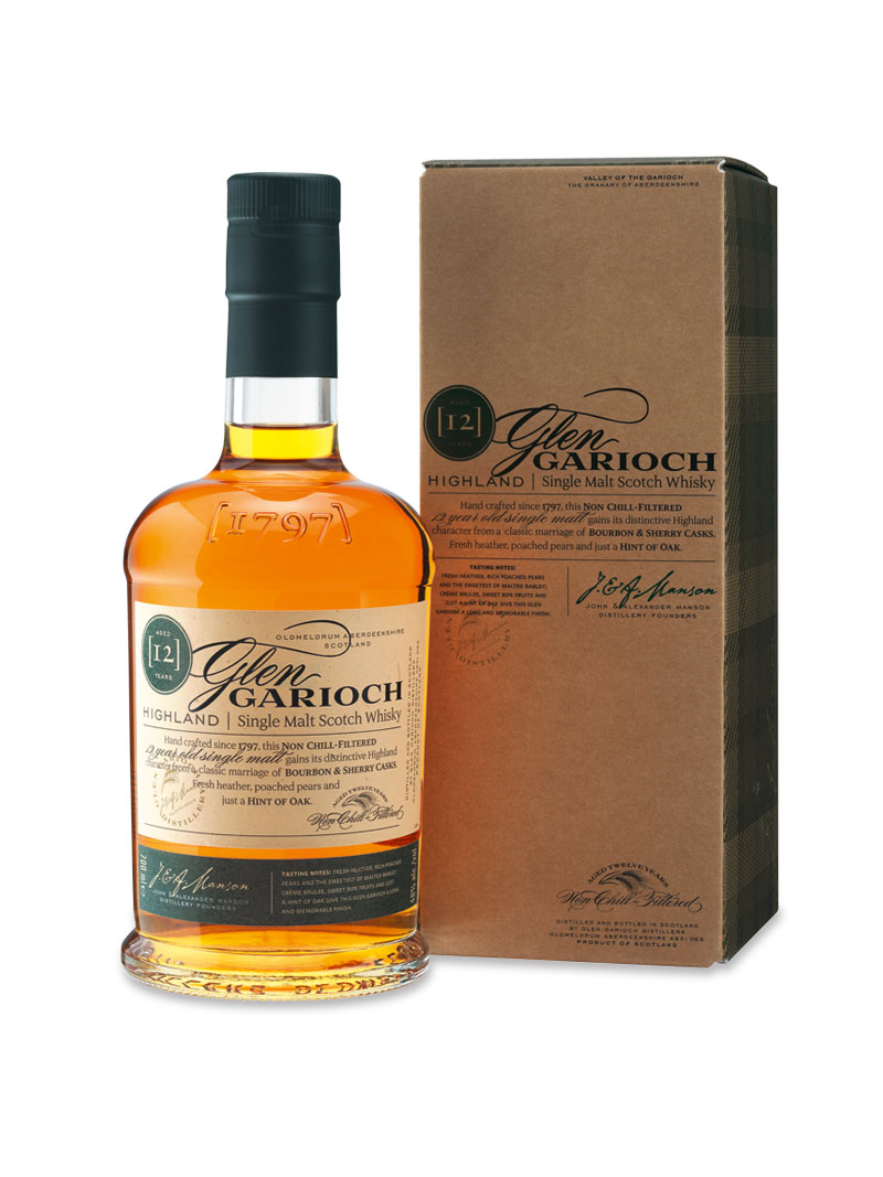 Glen Garioch Single Malt Scotch Whisky 12 Jahre alt