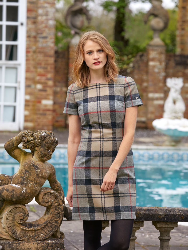 Barbour-Kleid im 'Dress Tartan' Bild 2