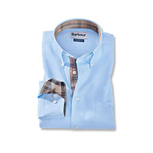 Barbour - Hemd 'Southfields' in Hellblau