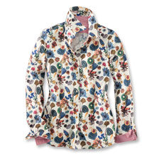 Liberty-Cordbluse 'Floral Earth'