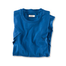 Aigle-T-Shirt in Royalblau
