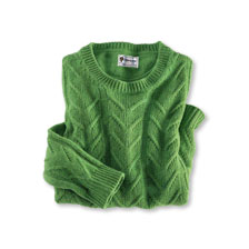Country-Pullover 'Glenmore Forest' in Irish Green