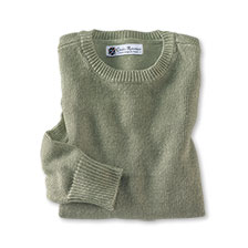 Sommerpullover 'St Mawes' in Seegrün