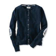 Barbour-Cardigan 'Breedon' in Navy