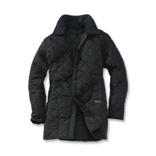 Barbour Steppjacke Liddesdale in Schwarz