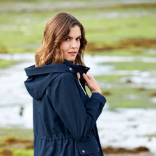 Lässiger Barbour-Sommerparka in Navy