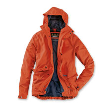 Barbour-Funktionsjacke 'Foxtrot Jacket' in Burnt Orange