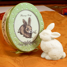 Seife Bunny Soap in Hasenform
