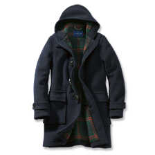 Aus London: Der original englische Dufflecoat in Navy