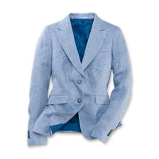 Kinbury-Blazer 'Seaford' in Iris Blue