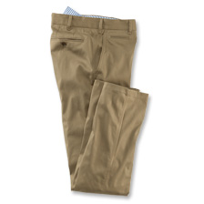 Baumwollhose 'Shakespeare' aus Cotton-Drill in Khaki