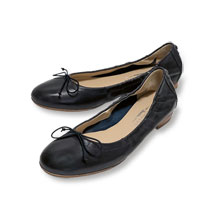 Leder-Ballerinas London für Damen