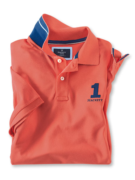 Hackett-Polo 'No 1' in Orange
