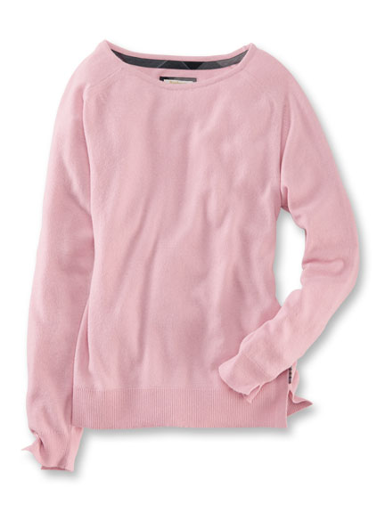 Barbour Pullover in Rosé