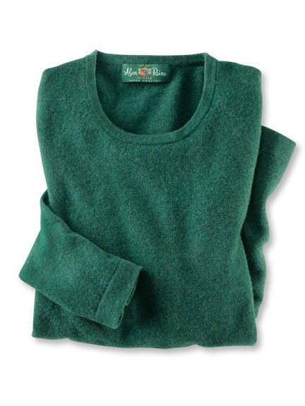 Geelong-Pullover in Heritage Green von Alan Paine