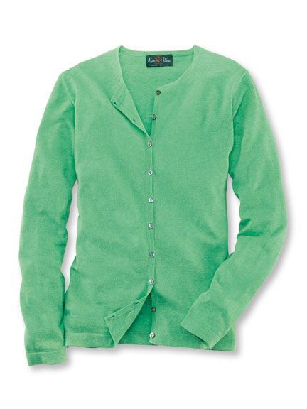 Cardigan 'Sophie' in Fresh Green von Alan Paine