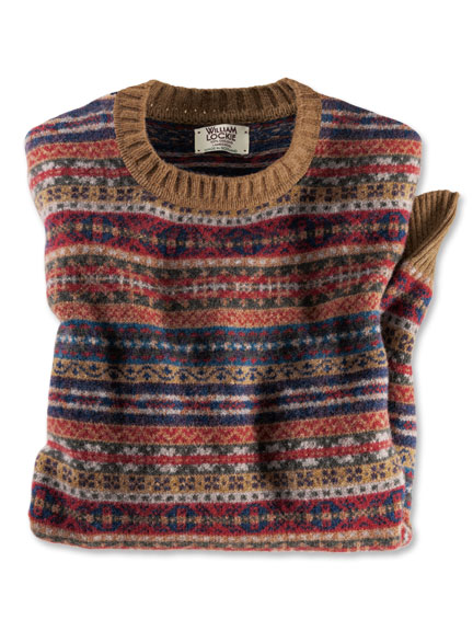 Fair-Isle-Pullover von William Lockie
