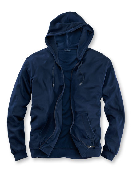 Well-Being-Hoody' in Navy von Charles Robertson