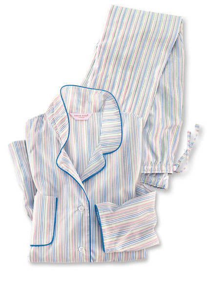 Pyjama 'Modern Stripes' von Derek Rose
