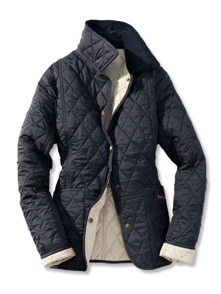 'Summer Liddesdale' von Barbour in Navy