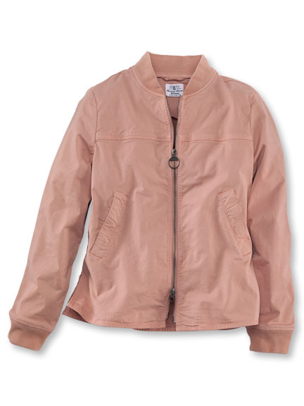 Barbour-Blouson 'Mabel' in Light Rosé