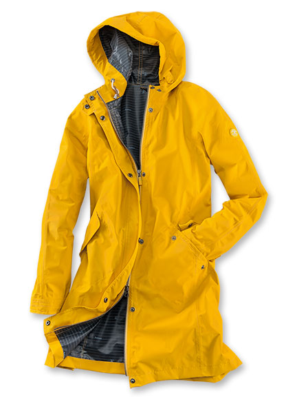 Barbour-'Hartland Jacket' in Canary Yellow