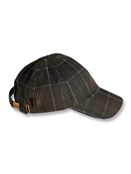 Tartan Wax 'Sports Cap' von Barbour