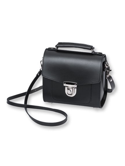 Zatchels-Tasche 'Sugarcrube' in Black