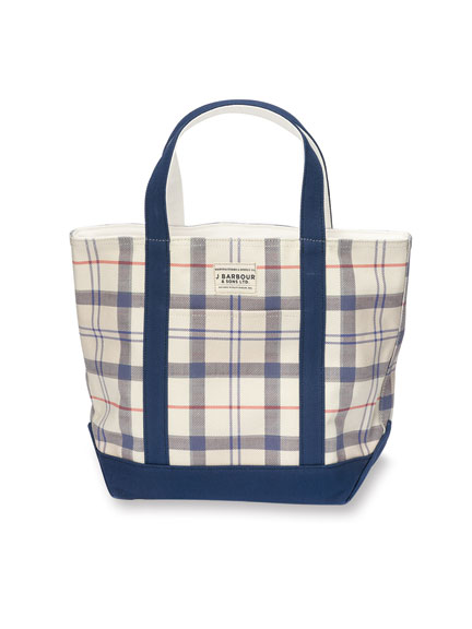 Canvas-Shopper in 'Summer Tartan' von Barbour
