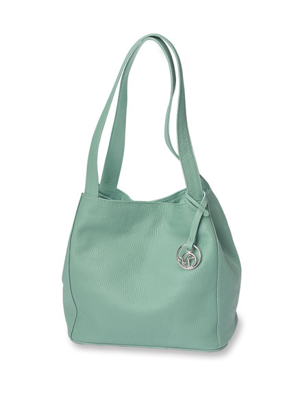 Ledertasche in Apple Mint von Kensington