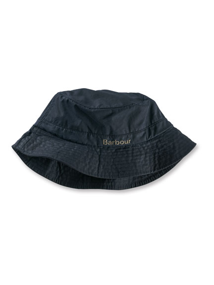 Barbour-Wachshut in Navy