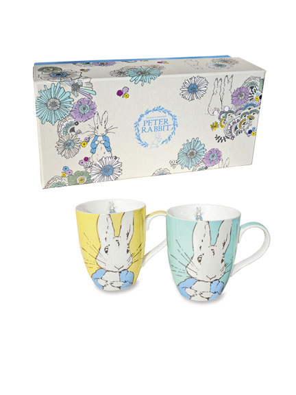 Becherset 'Peter Rabbit'