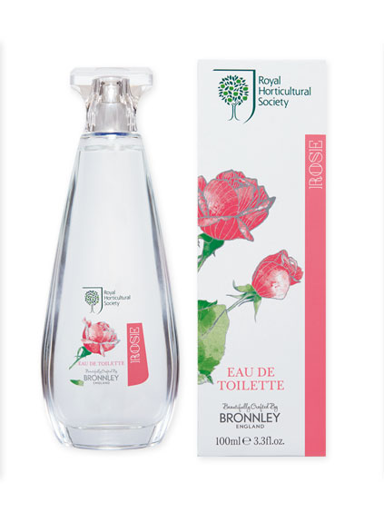 Eau de Toilette 'Rose' von Bronnley