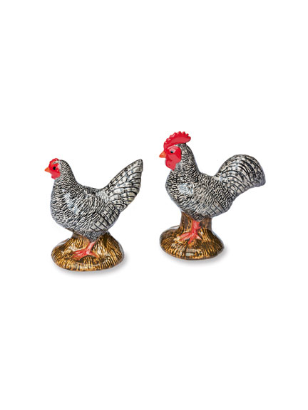 Salt & Pepper-Set ' Hen and Rooster'