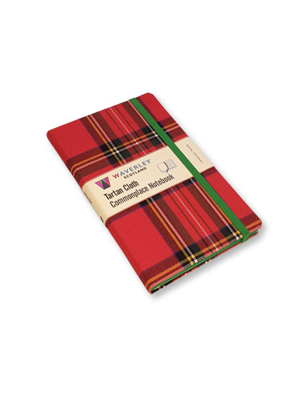 Notizbuch 'Royal Stewart' von Commonplace Notebooks
