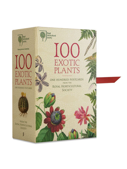 100 Exotic Plants - One Hundred Postcards