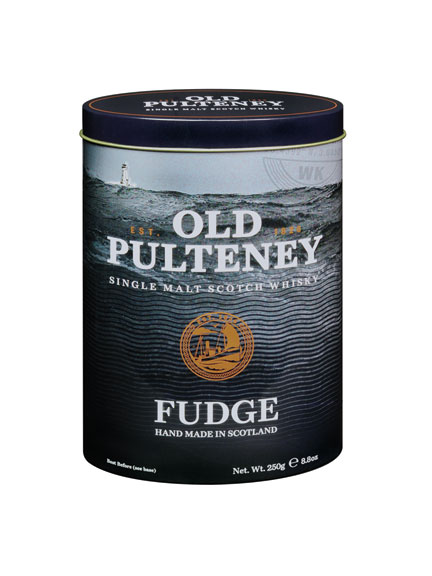 Old Pulteney Single Malt Scotch Whisky Fudge
