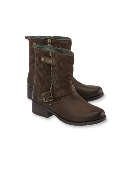 Barbour-Boots 'Sienna' in Antikbraun